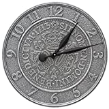 Three Crowns In Coin 16-in Indoor Outdoor Wall Clock - 02083