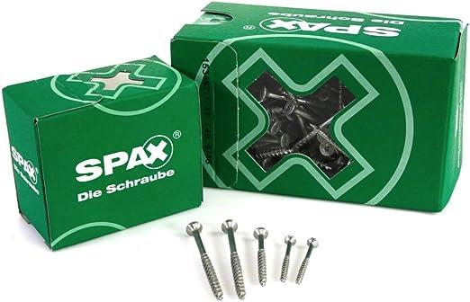 Vollgewinde SPAX Universalschraube aus Edelstahl rostfrei A2 4,5 x 70 mm 1197000450703 4CUT T-STAR plus 100 St/ück Senkkopf