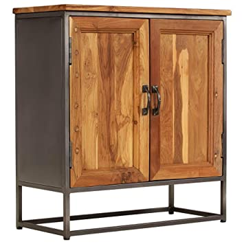 Amazoncom Vidaxl Sideboard Cabinet Side Table Door