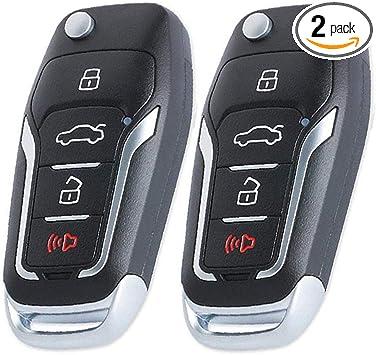 GQ43VT11T CWTWB1U345 CWTWB1U331 Keyecu Upgrade Red Flip Remote Key 315MHz 4D63 80 BIT Chip for Ford Mercury Lincoln FCC: CWTWB1U212