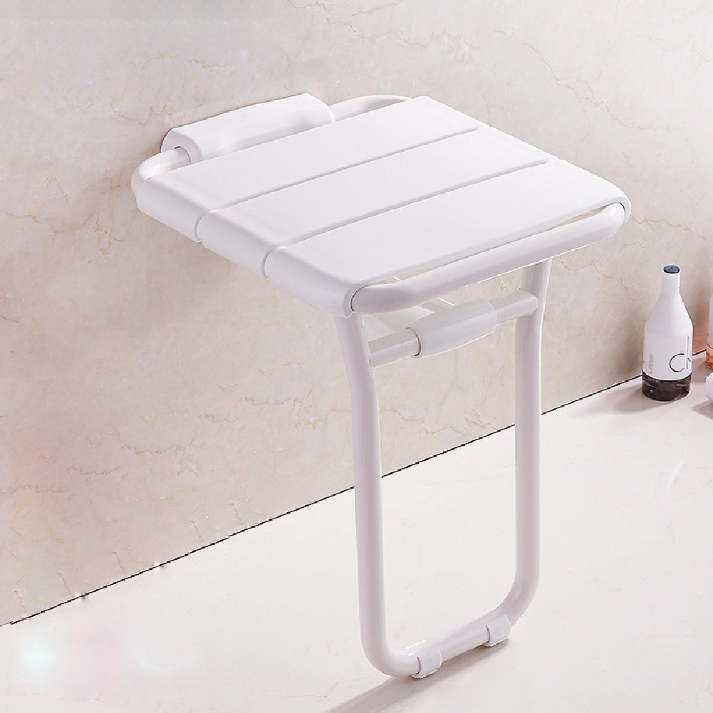MDRW-Safety Handrail Shoes Folding Seat Stool Bathroom And Toilet For The Disabled Elderly Security Wall Chair Bath Shower Wall Wall Stool Stool Stool by Olici