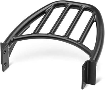 Genuine Kawasaki Accessories KQR Passenger Backrest//Luggage Rack Mounting Kit for 15-18 Kawasaki EN650SA Black