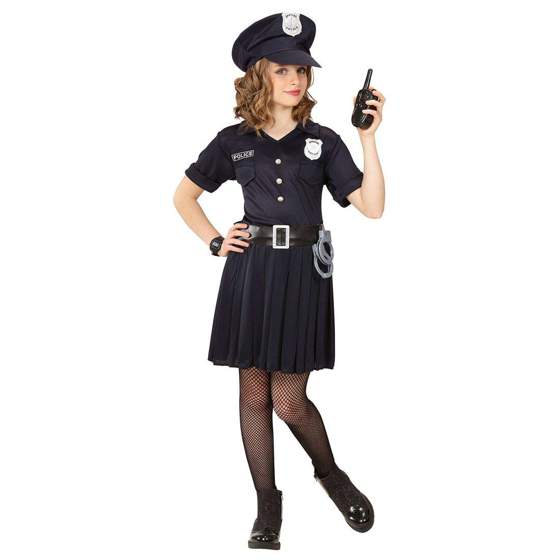 NET TOYS Disfraz Infantil Policía - 153 - 158 cm, 11 - 13 ...