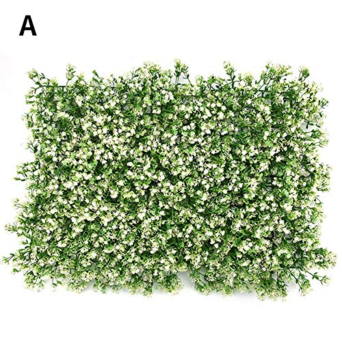 - Yunhigh Artificial Sun Flower Backyard - Plants Lawn Faux Hedges DIY Panels - Greenery Lawn for Home Garden Balcony Outdoor Indoor Decoration