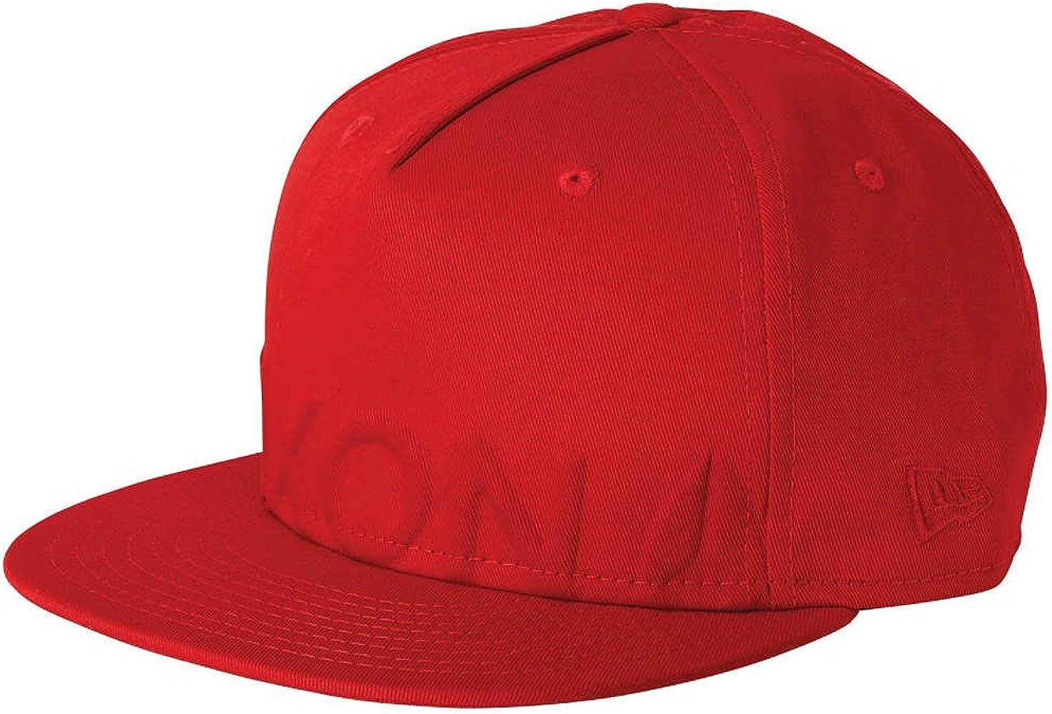Nixon - Gorra de béisbol - para hombre rojo 7 1/8: Amazon.es: Ropa ...