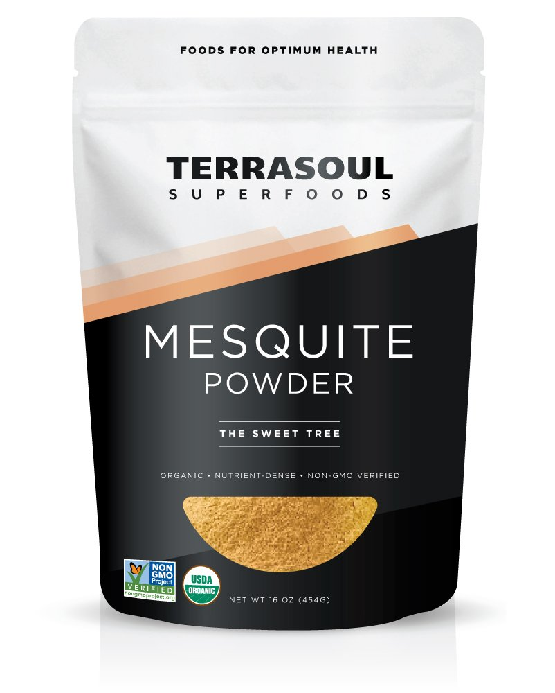 Terrasoul Superfoods Mesquite Powder (Organic), 16 Ounces
