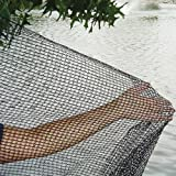 GREEN VISTA'S DELUXE BIRD BARRIER NET / NETTING - 32x32 Feet - Protects Fruit Trees, Berry Shrubs, Vegetables, Flowers and More - 1/4x3/8 Inch Mesh
