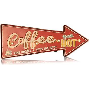 Amazon Com Panasign Coffee Bar Decor Led Sign For Home Bar Led