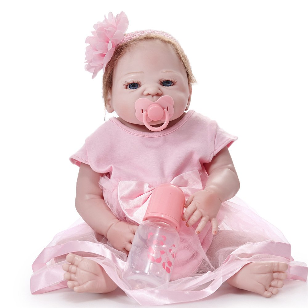 ofreciendo 100% GAOYY Rebirth Doll Simulation Baby Doll 55cm Ojos Marrones,55cm Marrones,55cm Marrones,55cm  excelentes precios