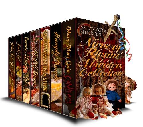 Nursery Rhyme Plate - Nursery Rhyme Murders Collection: Mysteries not for the faint of heart!