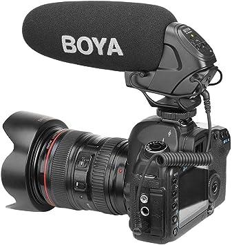 ALIAN Barrera by-bm3031 micrófono de Condensador para cámara de ...