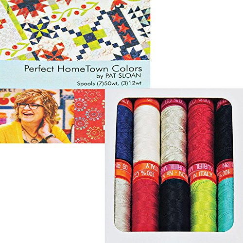 Perfect HomeTown Colors by Pat Sloan Thread Kit 7 50wt an...