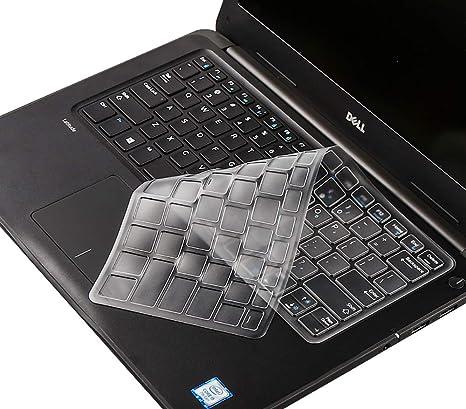 Maxsan Keyboard Cover for Dell Latitude E7470 E5480 E5490 E5491 7480 E5480 7490 E7450 E5450 E5470 E7350 E3350 E5470 14-Black