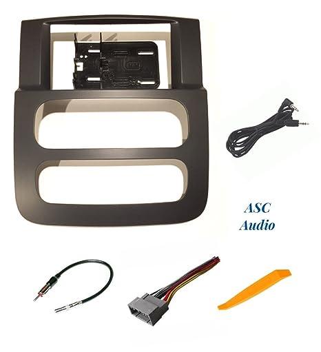amazon com asc audio car stereo install dash kit wire harness and rh amazon com