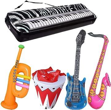 Tomaibaby Juego de Juguetes Musicales Inflables 5 Piezas ...