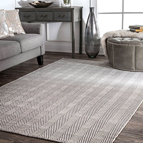 nuLOOM Kimberely Hand Loomed Area Rug, 4
