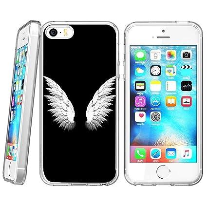 Amazon.com: Carcasa para iPhone SE 5S, 5 alas de ángel ...