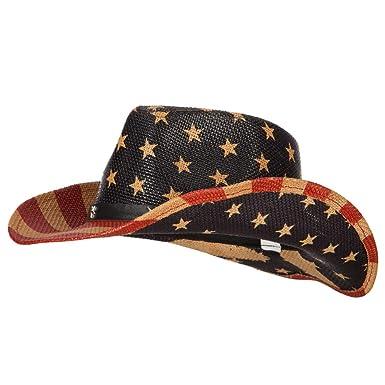 1a4a8e2ee24 Amazon.com  e4Hats.com Kid s USA Flag Designed Cowboy Hat - American ...