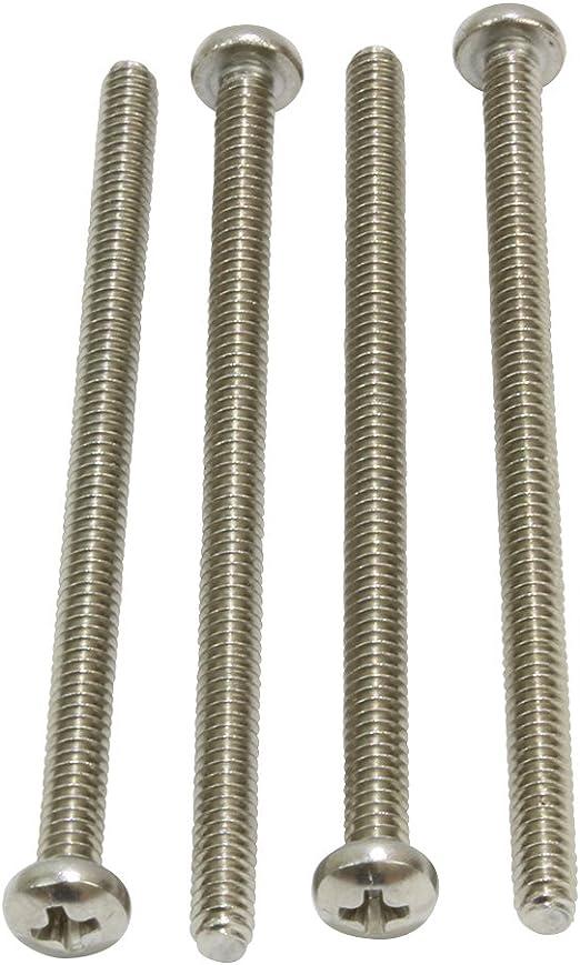 4-40 X 1//2 Slotted Round Machine Screw Brass Package Qty 100