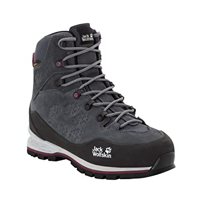 Jack Wolfskin Women's Wilderness Xt Texapore Mid Waterproof B1 Rated Mountaineering Boot | Hiking Boots