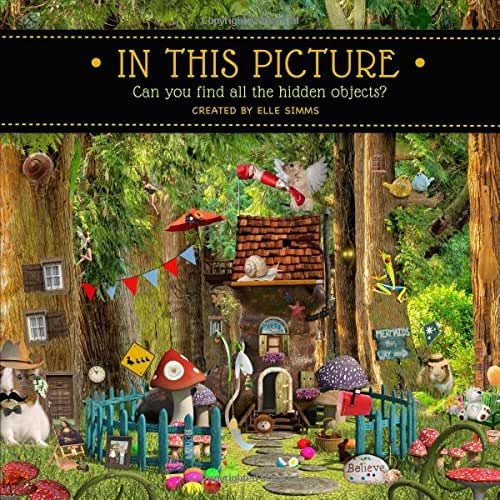 In This Picture: Can you find all the hidden objects?