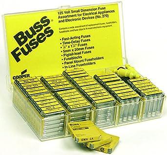 cooper bussmann 270 fuse assortment kit 270 fuses. Black Bedroom Furniture Sets. Home Design Ideas
