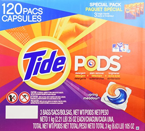 Tide Pods  Spring Meadow    120 Count
