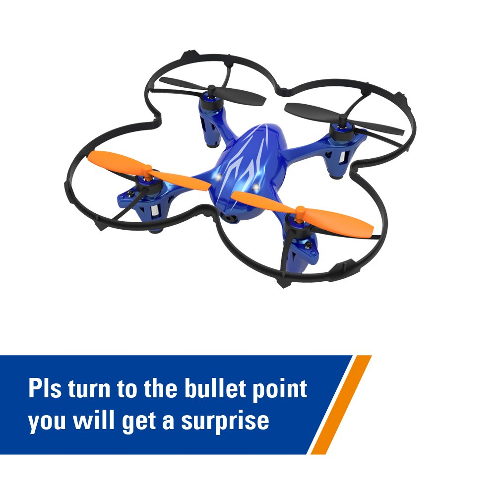 SKYKING RC Quadcopter S-88W Mini Drone with Camera for beginners with 2.4-GHz 6-Axis Gyro 3D Flips One Key Takeoff and Landing Altitude Hold Function Headless Mode Best Drone for Beginners & Kids