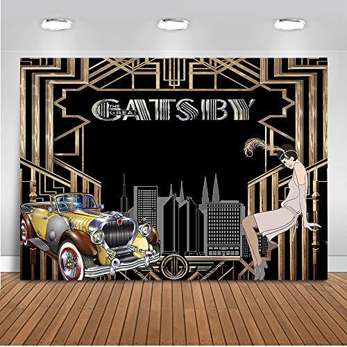 1920s Backdrop - Mehofoto The Great Gatsby Backdrop 1920's