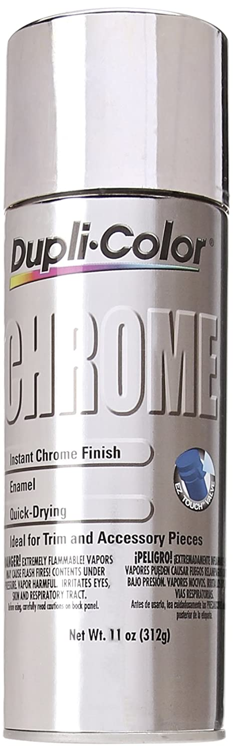Dupli-Color CS101 Chrome Instant Enamel Spray - 11 oz., Paint ...