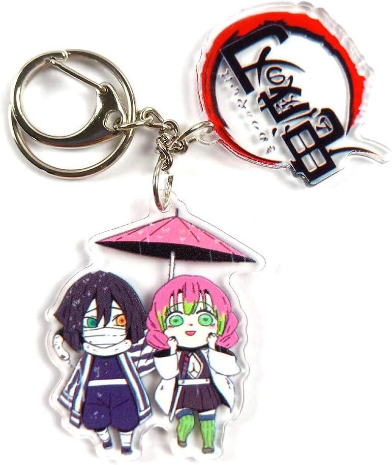 cadeau id/éal pour les fans porte-cl/és en acrylique avec pendentif en forme danime japonais Kimetsu no Yaiba UCAI Demon Slay