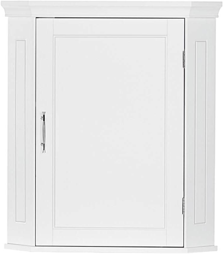 RiverRidge Somerset Corner Wall Cabinet, White