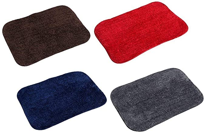 Yazlyn Collection ECO Series Cotton Blend Machine Washable Door Mat - (16x24-inch) - Combo Set of 3