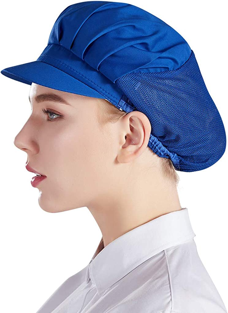Nanxson 3pcs Chef Hat Kitchen Cooking Chef Cap Food Service Hair Nets CF9033