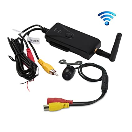 Esky Wireless Color Video Transmitter and Receiver for Vehicle Backup...