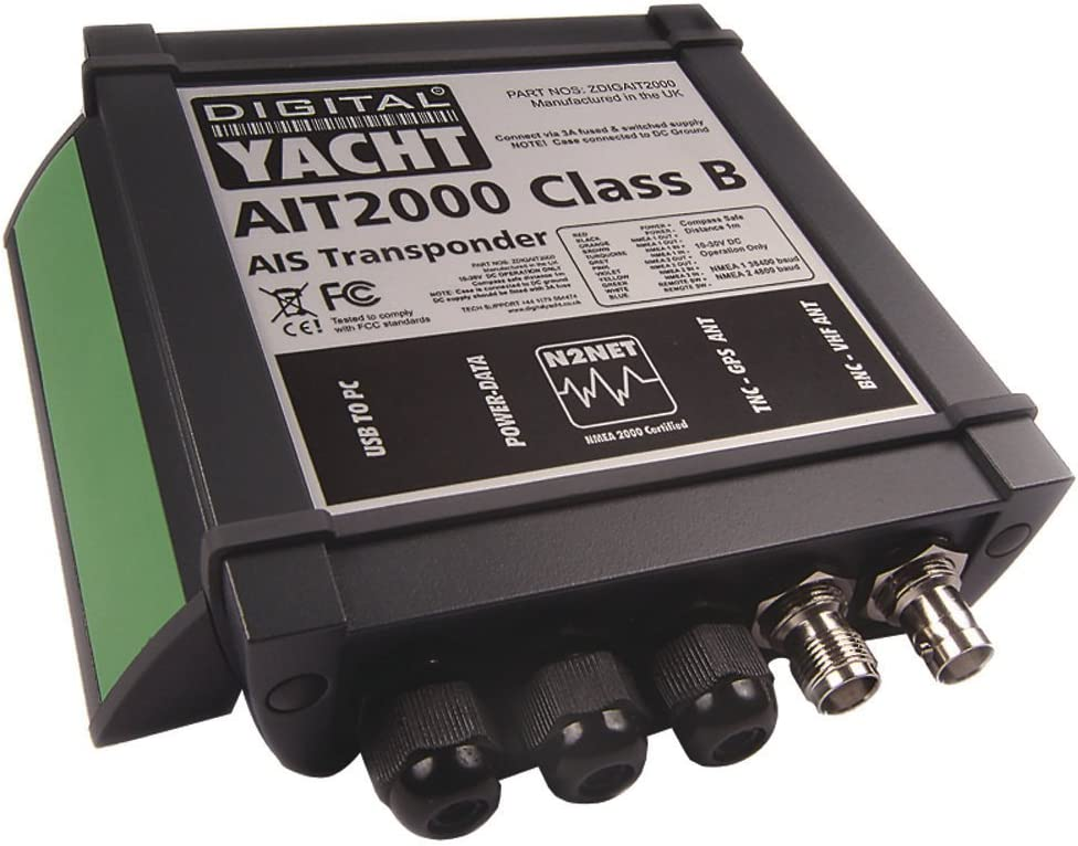 Digital Yacht AIT2000 Class B Transponder w/GPS Antenna Includes Programming Fee: Amazon.es: Electrónica