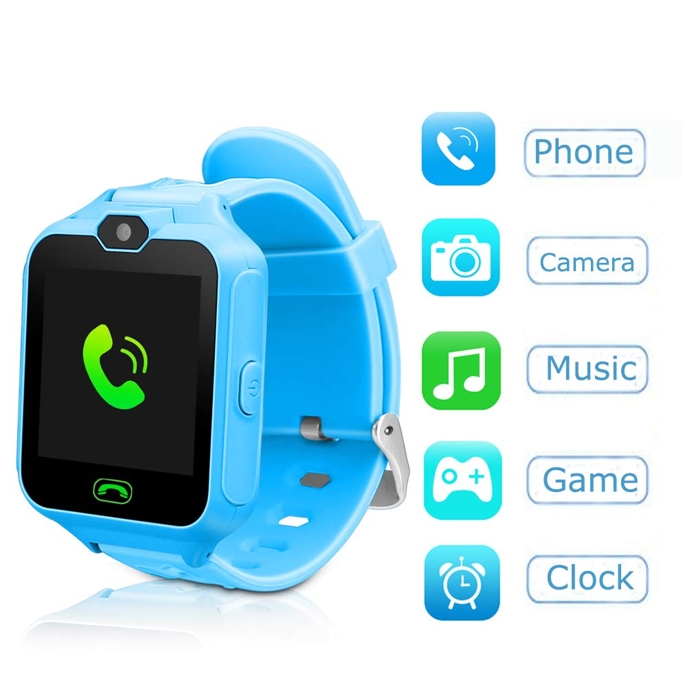 Kids Smart Watch Phone Watch Kids Smartwatch Camera Games Touch Screen Cool Toys Smart Watch Gifts Girls Boys Children