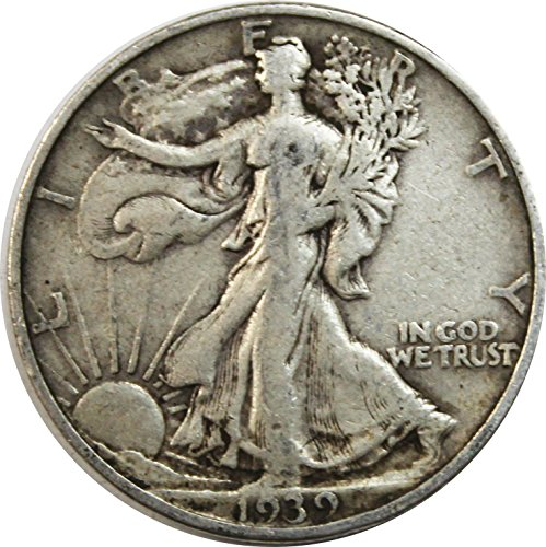 1939 S Walking Liberty Half Dollar 50c Very ()