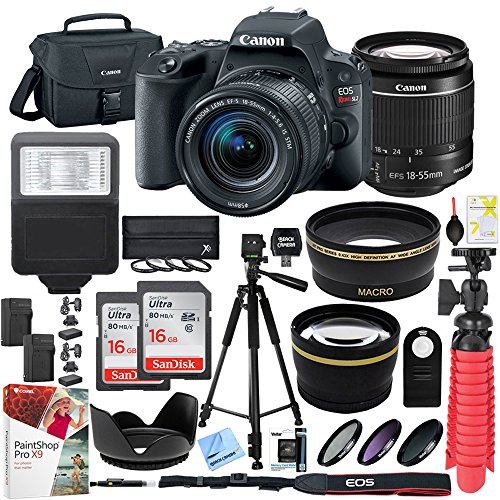Canon EOS Rebel SL2 24MP SLR Digital Camera w/EF-S 18-55mm i