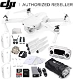 DJI Mavic Pro Alpine White Combo Collapsible Quadcopter Drone Starters Bundle