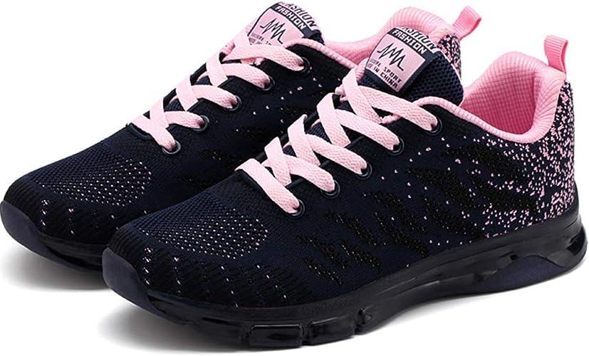 Zapatillas de Deporte de Mujer Zapatillas de Aire Amortiguadores ...