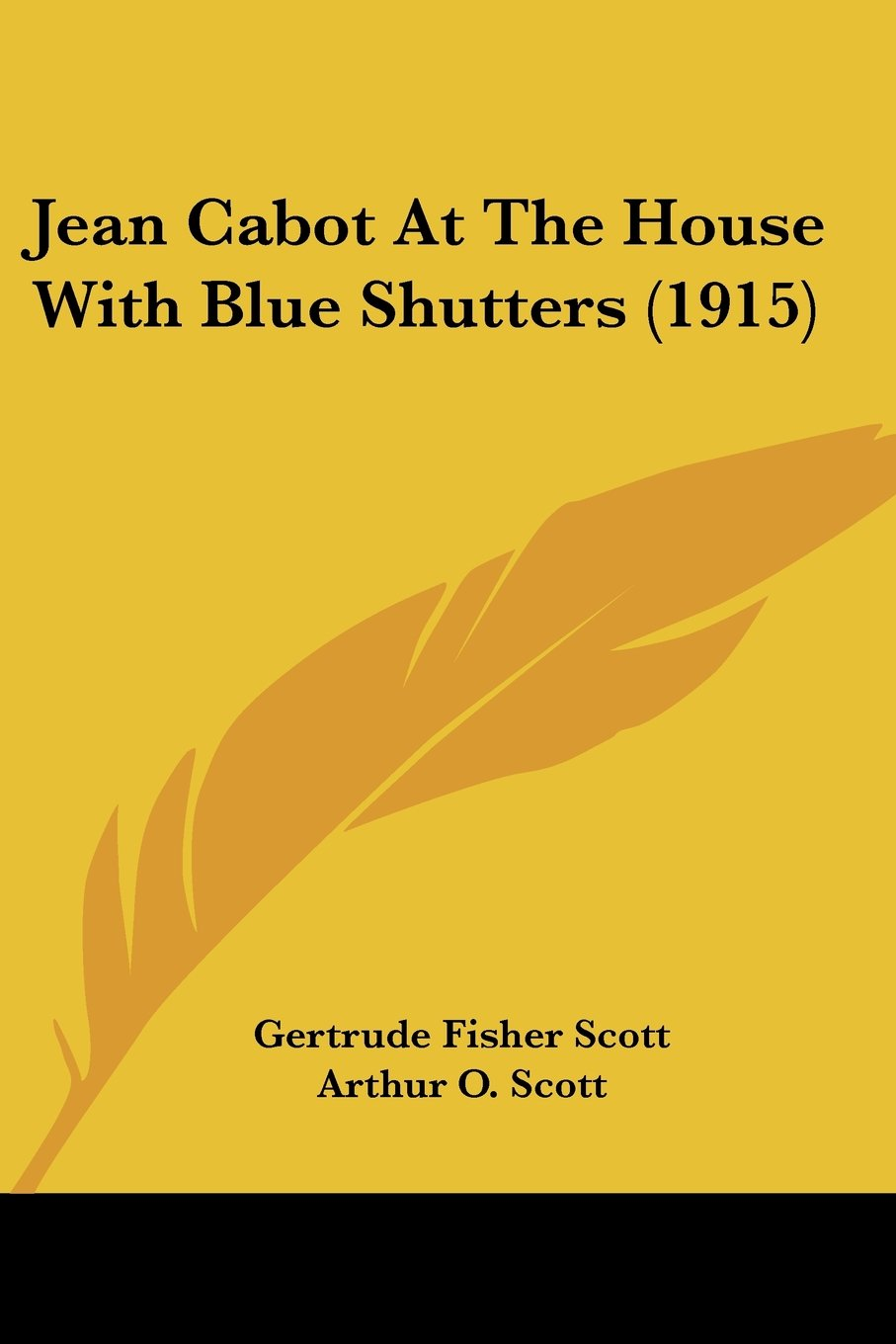 Read Online Jean Cabot At The House With Blue Shutters (1915) PDF