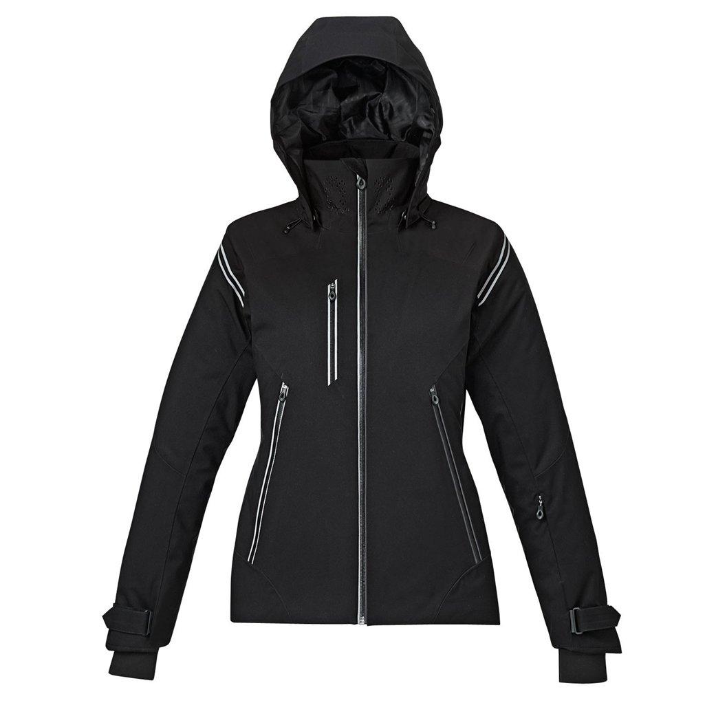 Ash City Ladies Ventilate Insulated Jacket (XX-Large, Black)
