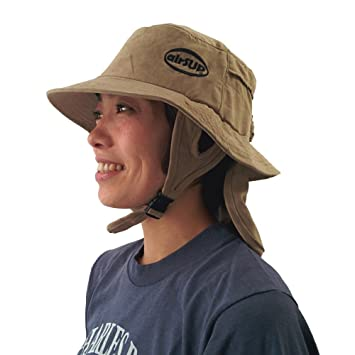 f4f273ae2091b0 airSUP Bucket Hat for Stand Up Paddle Surf & Sun Protection Wide Brim Fast  drying Polyester Sand Color: Amazon.ca: Sports & Outdoors