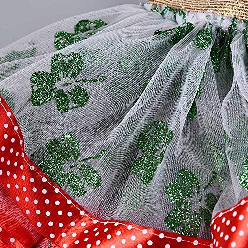 Filles Cheveux Jupes De Cerceau Ensemble Mode Noël Tutu Vert Enfants Chic Pour Fête Fantaisie Ballet Soirée Adeshop Carnaval 2 Vêtements 5WPqSnv
