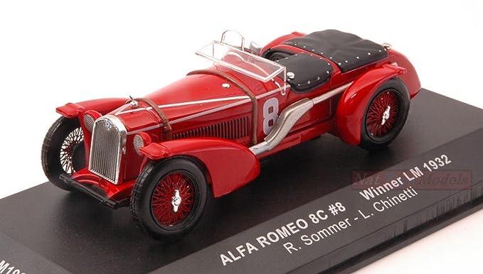 IXO MODEL LM1932 ALFA ROMEO 8 C N 8 WINNER LM 1932 R SOMMER