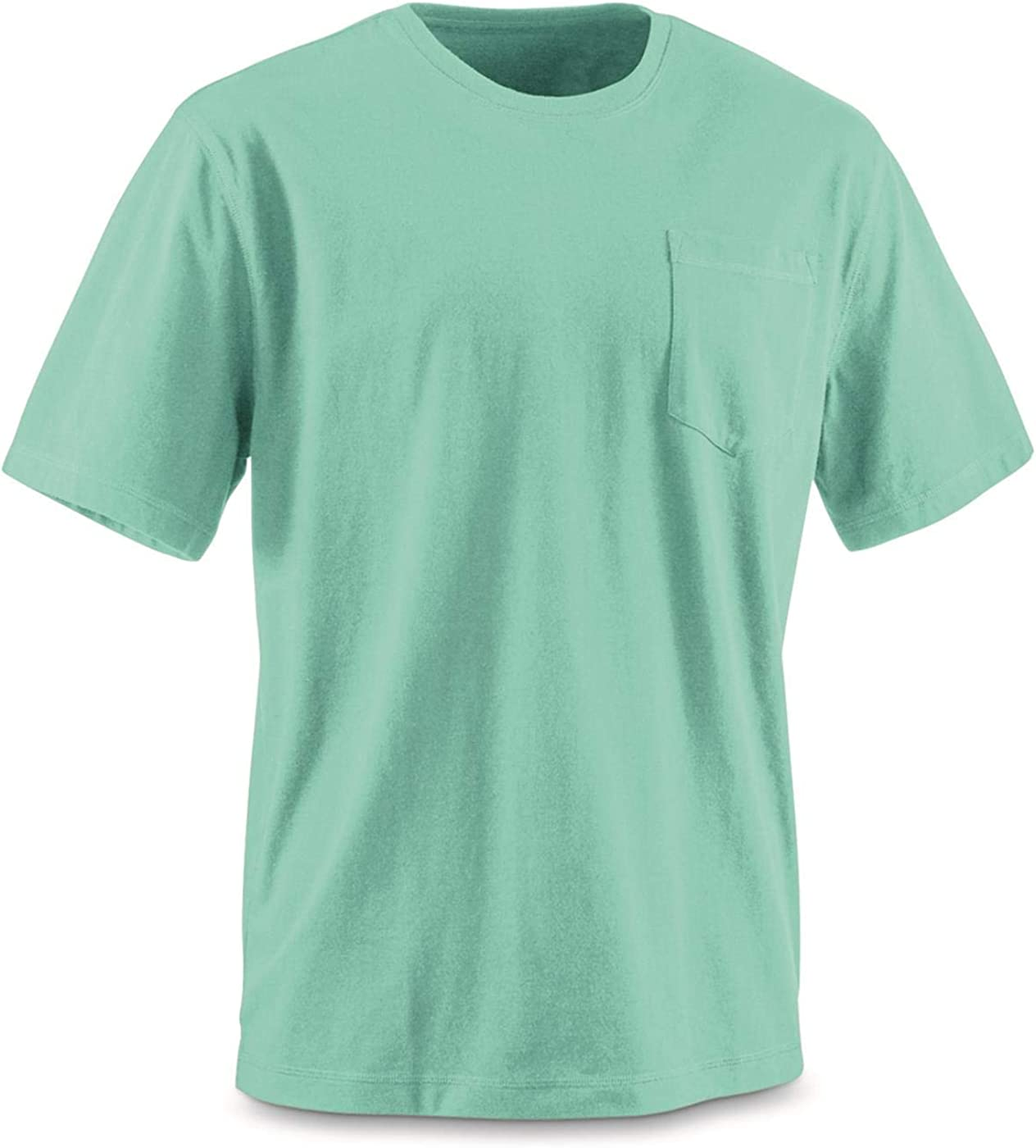 Guide Gear Mens Stain Kicker Short Sleeve Pocket T Shirt with Teflon