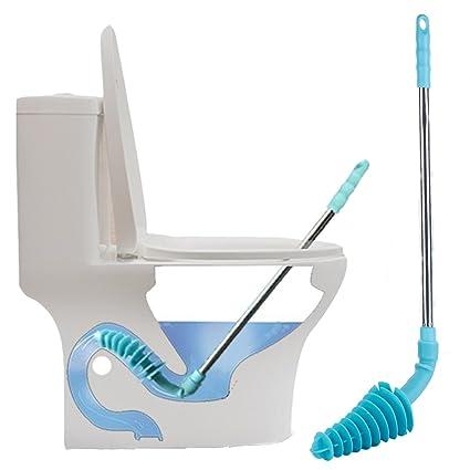Amazon.com: Toilet Plunger,YoyoKit Piston Type Toilet Clog Remover ...