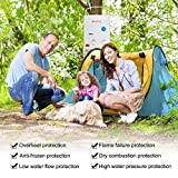Camplux 5L 1.32 GPM Outdoor Portable Propane