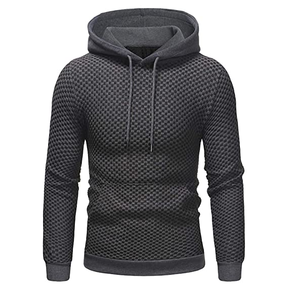 Selou Herren Herbst Winter dunkle Pullover Gedruckte Mode